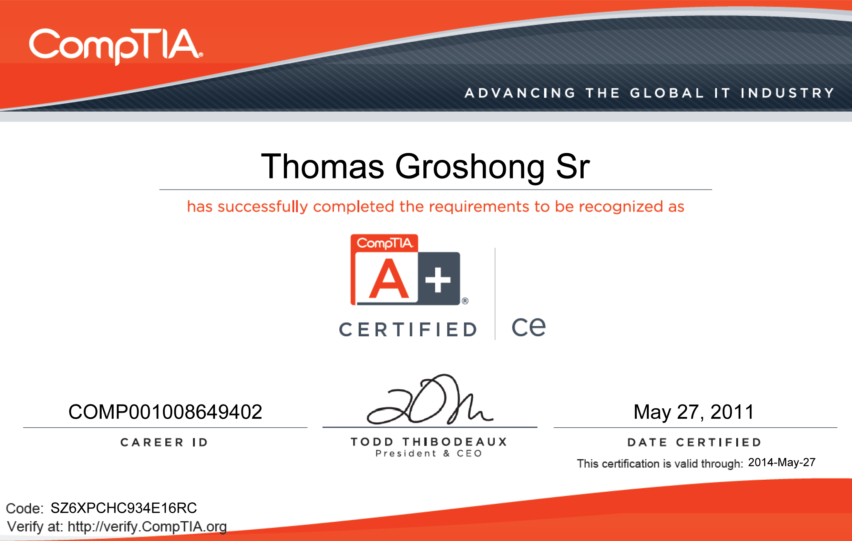 Certifications soidisante ace comptia 27may2011 xflitez Choice Image